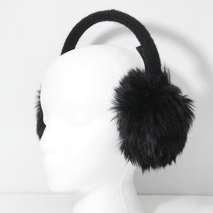 The Limited Faux Fur Earmuffs Warm Fuzzy NEW